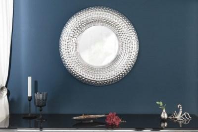 Nástěnné zrcadlo Alijah 60 cm stříbrné
