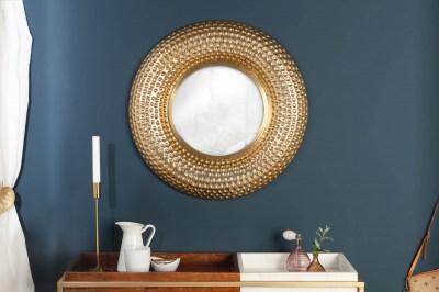 Nástěnné zrcadlo Alijah 60 cm zlaté