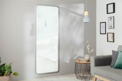 Nástěnné zrcadlo Cason 170 cm stříbrné