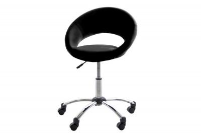 Designová kancelářská židle Navi černá