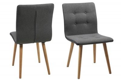 Designová židle Neo světle šedá