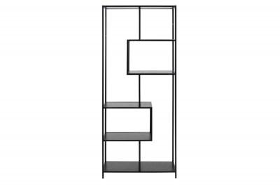 Knihovna Naja 185 Asymetrická black 4P