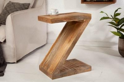 Odkládací stolek Adalet Z 45 cm Mango