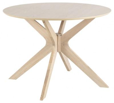 Okrúhly jedálenský stôl Neeja 105 cm dub
