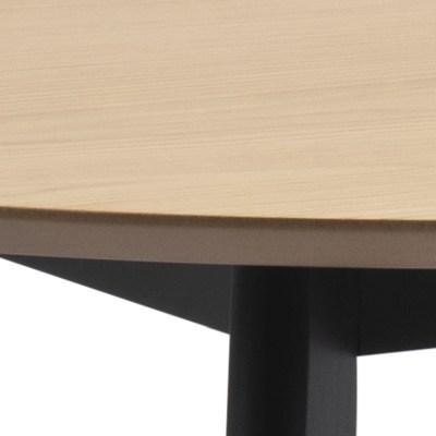 Okrúhly jedálenský stôl Nieves 105 cm dub