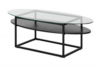 Oválný konferenční stolek Akbar 140 cm