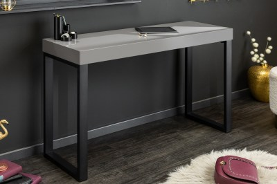 Psací stůl Office 120 x 40 cm šedý