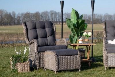 Sada dekorativních košíků Raiden přírodní