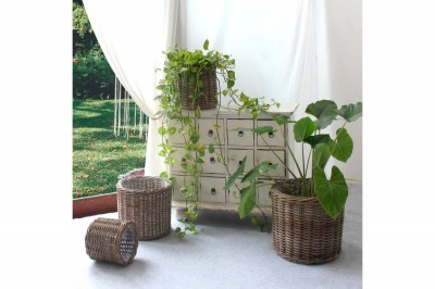 Sada dekorativních košíků Skylar přírodní