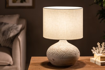 Stolní lampa Dylan I 43 cm béžová