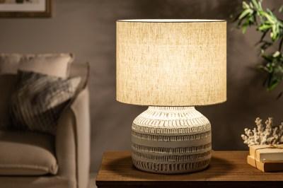 Stolní lampa Dylan I 47 cm béžová