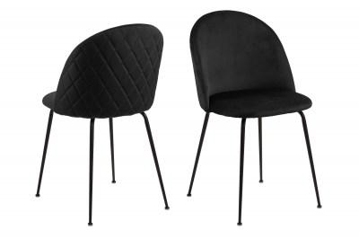 Stylová jídelní židle Alexandre černá