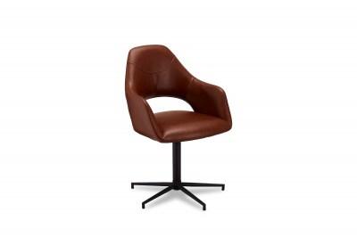 Stylová židle Aarush, světlehnědá