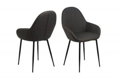 Stylová židle Alard holubičí šedá