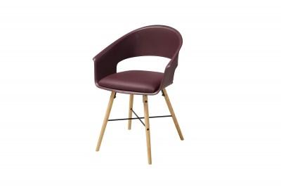 Stylová židle Alben bordova