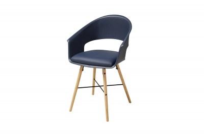 Stylová židle Alben modrá