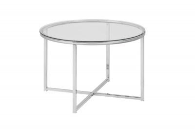 Stylový konferenční stolek Aimilios chromová