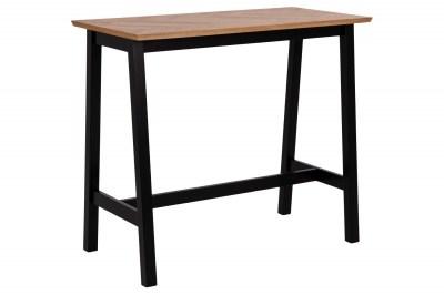 Stylový barový stůl Nazy 120 cm světlý dub