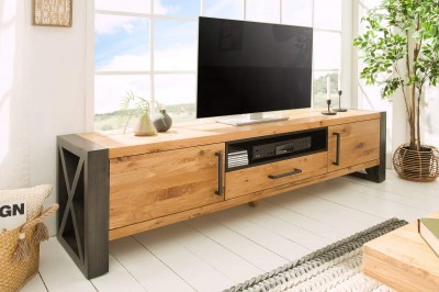 TV stolek Thunder 200cm divoký dub