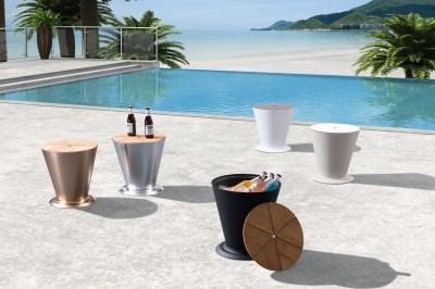Zahradní stolek HIGOLD - ICOO Black