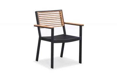 Zahradní jídelní židle HIGOLD - York Dining Arm Chair Black/Black