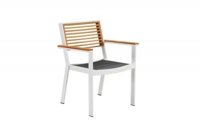 Zahradní jídelní židle HIGOLD - York Dining Arm Chair White/Black