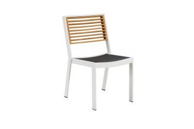 Zahradní jídelní židle HIGOLD - York Dining Chair White/Black