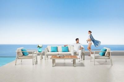 Zahradní sestava HIGOLD II - Nofi Lounge Olefin