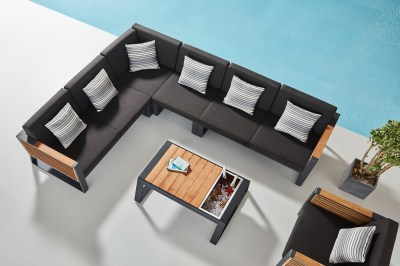 Zahradní sestava HIGOLD - New York Corner Lounge Olefin