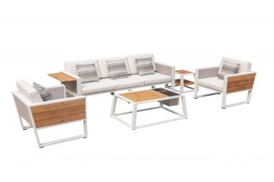 Zahradní sestava HIGOLD - York Lounge White/White Olefin