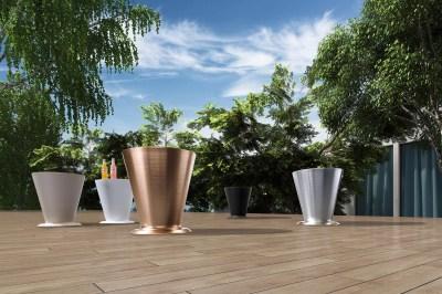 Zahradní stolek HIGOLD - ICOO White