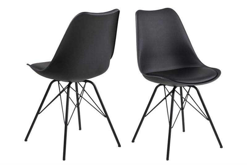 Designová židle Nasia černá