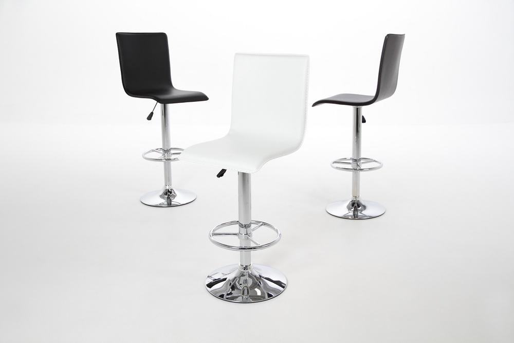 Stylová barová židle Alastair černá