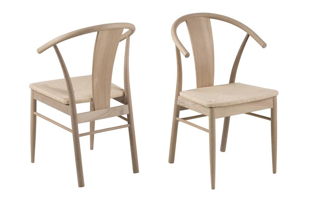 Stylová jídelní židle Alioth dub