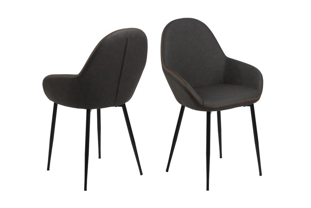 Stylová židle Alard holubičí šedá - Skladem (RP)