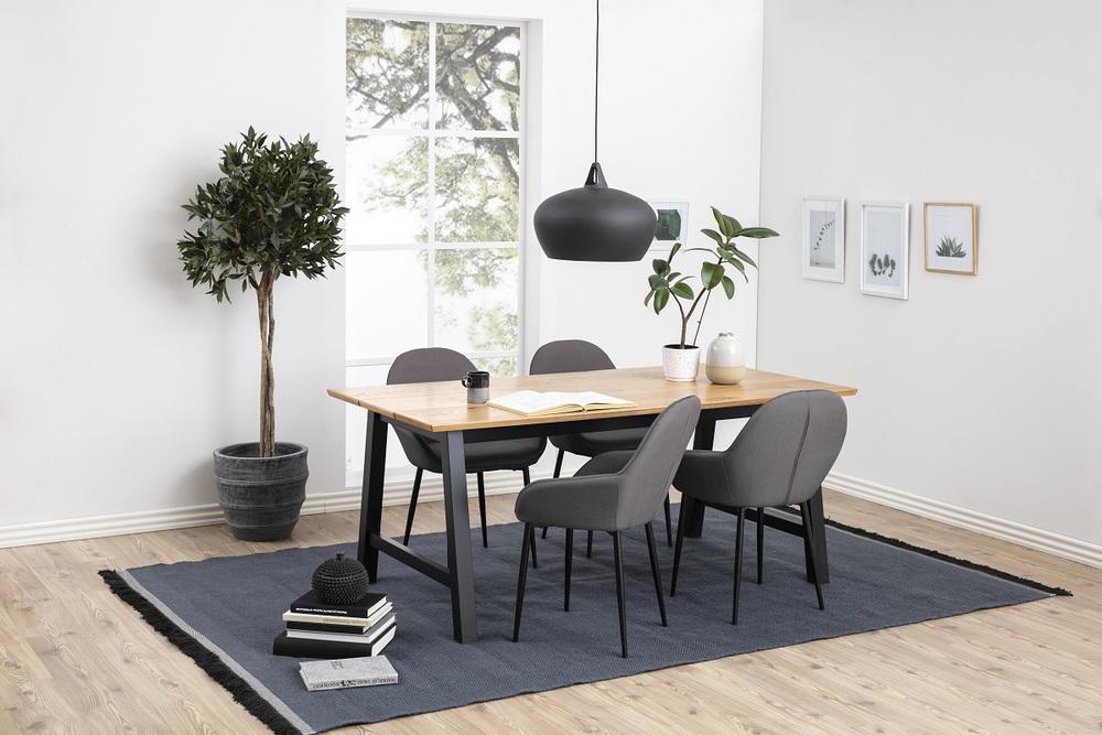 Stylová židle Alard šedá - Skladem (RP)
