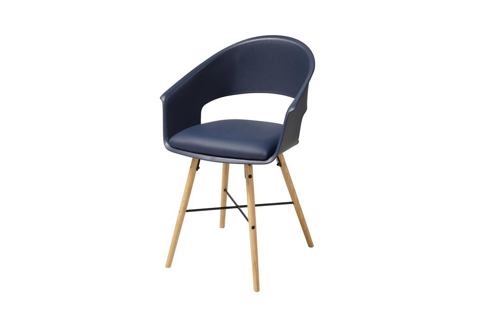 Stylové židle Alben modrá