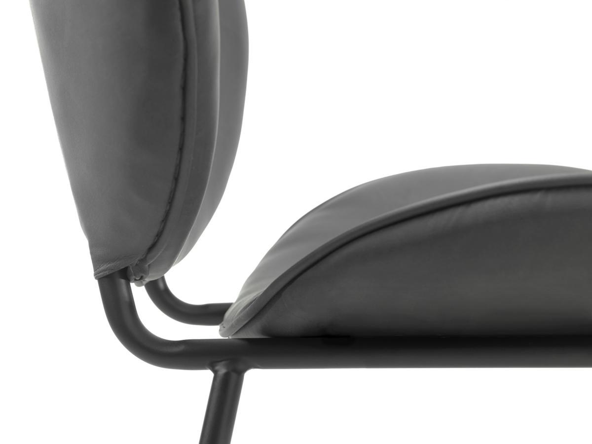 Designová židle Wilson černý samet
