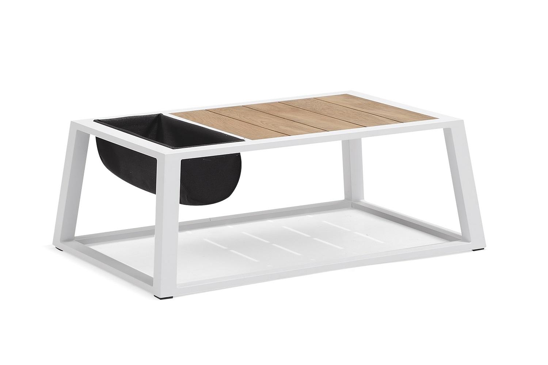 Zahradní sestava HIGOLD II - York Lounge White/Black Olefin