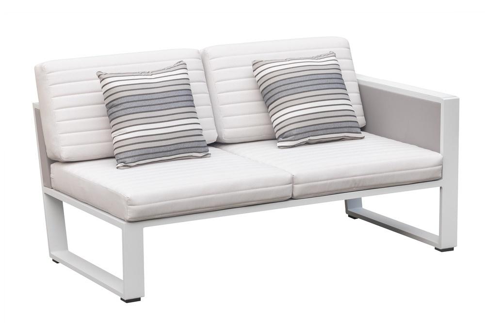 Zahradní sestava HIGOLD - York Corner Lounge White/White Olefin